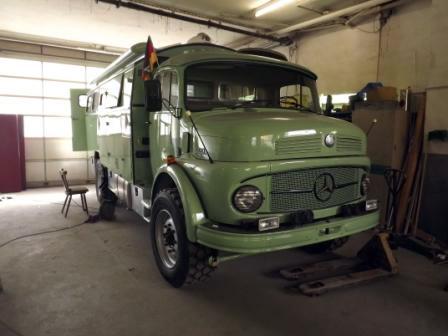 Umbau Mercedes Rundhauber