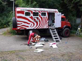 mercedes benz 1519 das zebra kurzhauber. Black Bedroom Furniture Sets. Home Design Ideas