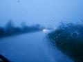Regenscheibe