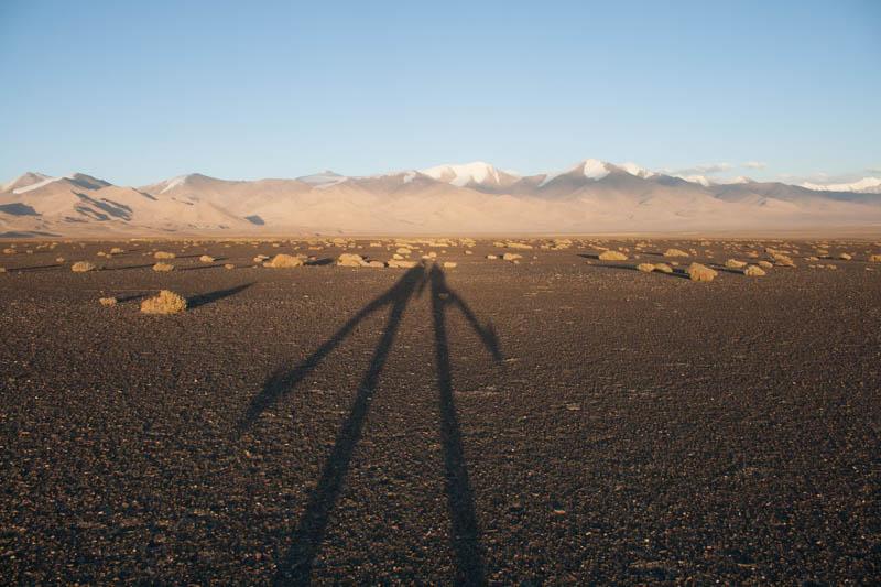Schatten am Karakul