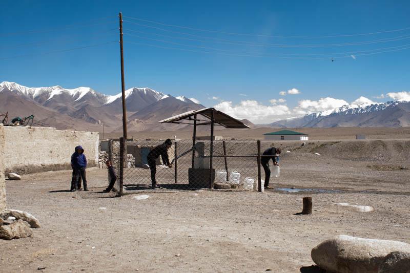 In der Ortschaft Karakul