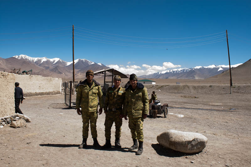 Militär in Karakul