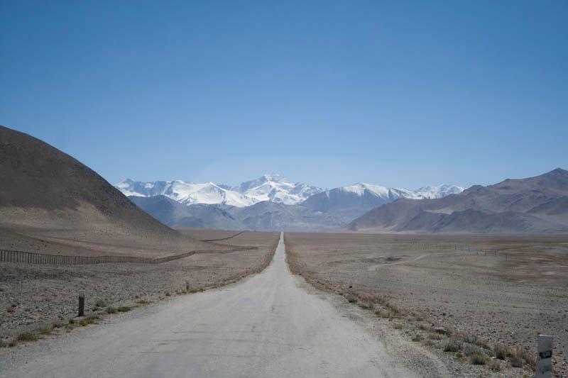 Straße bei Karakul