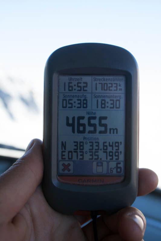 Auf 4655 Metern!