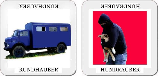 Gemischtes Doppel Rundhauber - Hundrauber