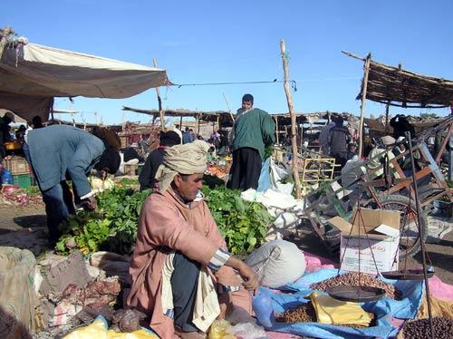 Am Markt in Zagora