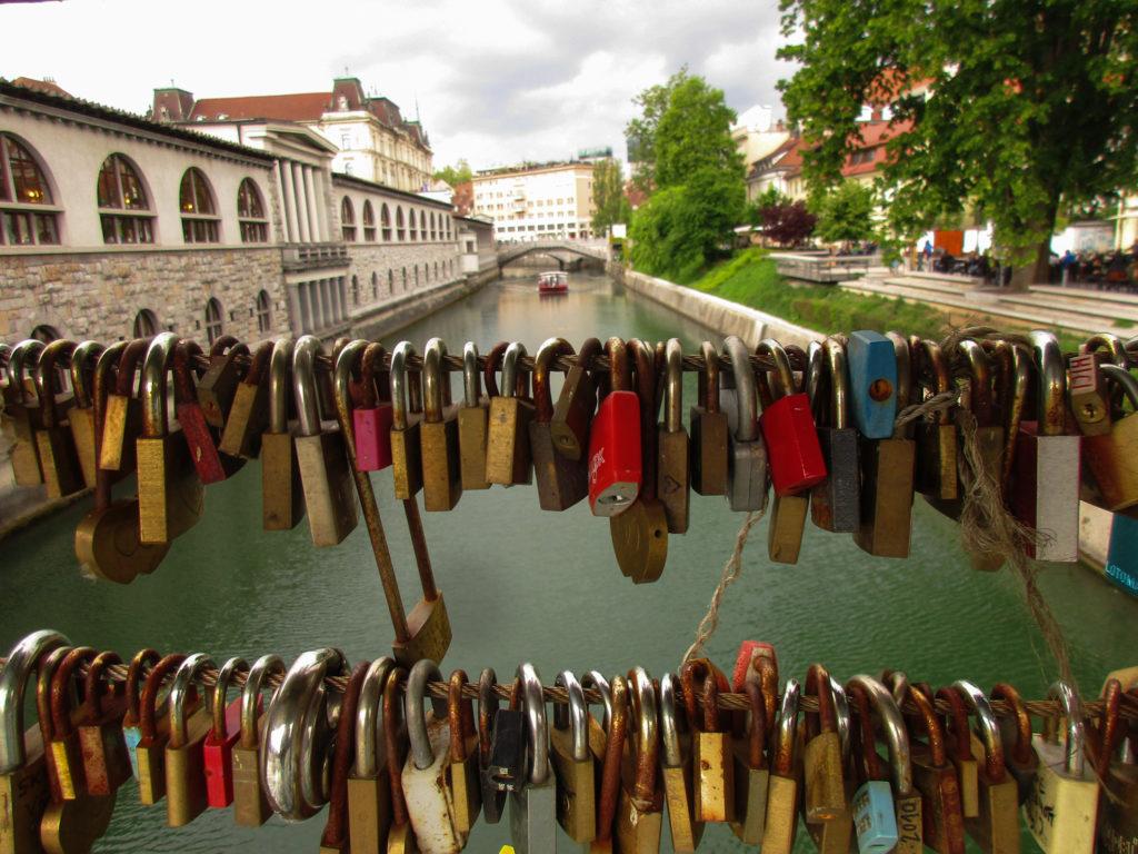 Brücke in Ljubljana