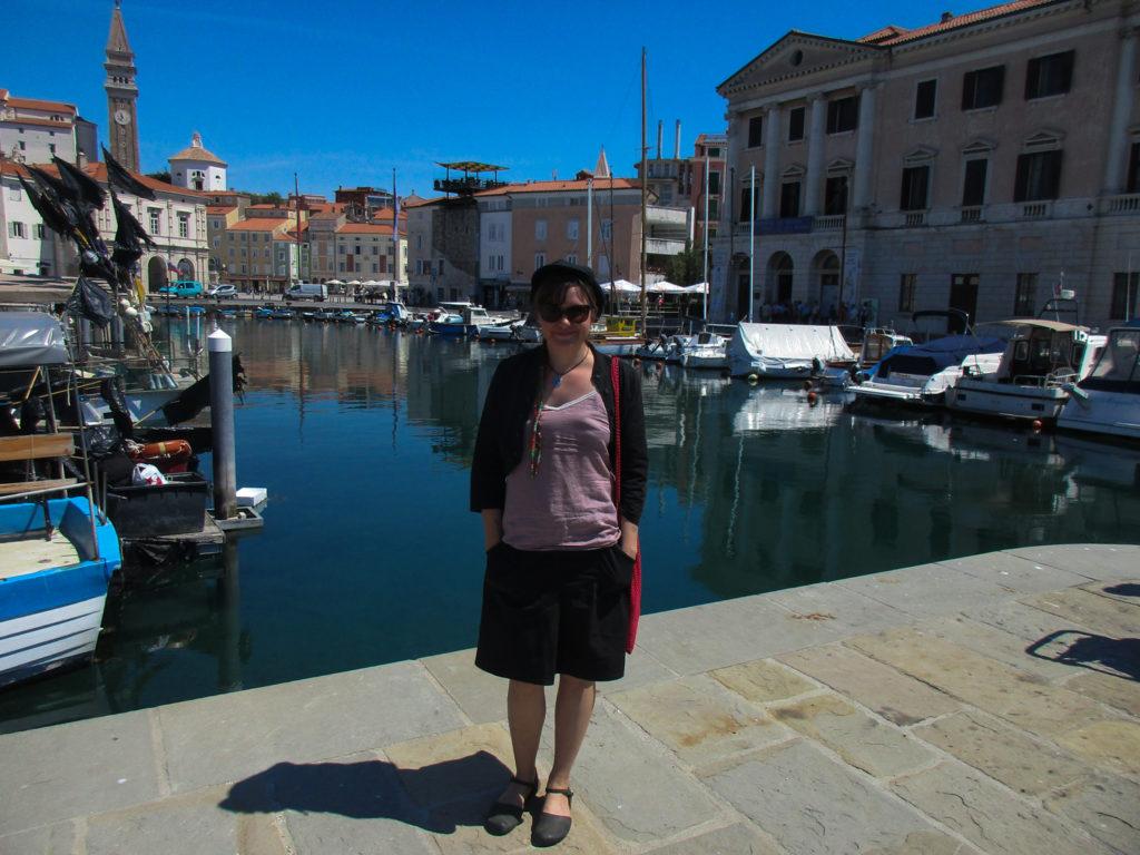 Im Hafenstädtchen Piran